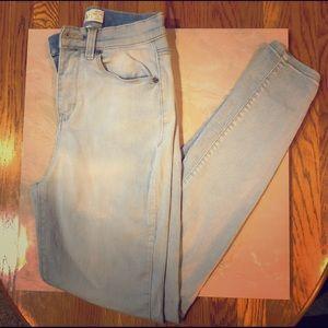 Light blue Mudd jean leggings